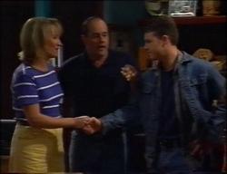 Ruth Wilkinson, Philip Martin, Michael Martin in Neighbours Episode 2967