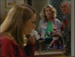 Claire Girard, Madge Bishop, Harold Bishop in Neighbours Episode 2967