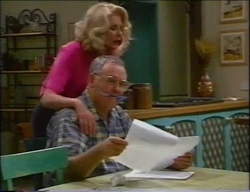 Madge Bishop, Harold Bishop in Neighbours Episode 2967