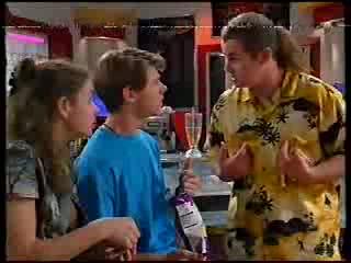 Hannah Martin, Lance Wilkinson, Toadie Rebecchi in Neighbours Episode 3000