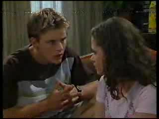 Billy Kennedy, Caitlin Atkins in Neighbours Episode 3000