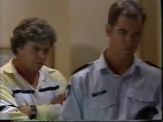 Joe Scully, Const. Ralph Walker in Neighbours Episode 3559