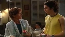 Susan Kennedy, Stingray Timmins, Dylan Timmins in Neighbours Episode 4661
