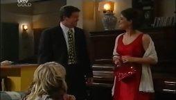 David Bishop, Liljana Bishop, Sky Mangel in Neighbours Episode 4661