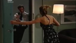 Paul Robinson, Izzy Hoyland in Neighbours Episode 4661