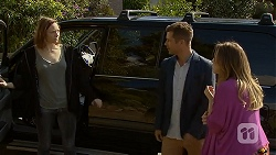 Erin Rogers, Mark Brennan, Sonya Mitchell in Neighbours Episode 7031