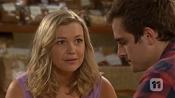 Georgia Brooks, Kyle Canning in Neighbours Episode 7033