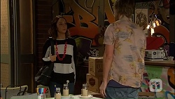 Imogen Willis, Daniel Robinson in Neighbours Episode 7034