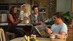 Paige Novak, Lauren Turner, Bailey Turner, Matt Turner in Neighbours Episode 7034