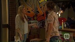 Amber Turner, Daniel Robinson in Neighbours Episode 7034