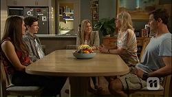 Paige Novak, Bailey Turner, Amber Turner, Lauren Turner, Matt Turner in Neighbours Episode 7034