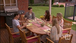 Matt Turner, Bailey Turner, Paige Smith, Lauren Turner, Amber Turner in Neighbours Episode 7034
