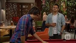 Chris Pappas, Nate Kinski in Neighbours Episode 7035
