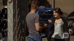 Mark Brennan, Naomi Canning in Neighbours Episode 7035