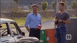 Matt Turner, Mark Brennan in Neighbours Episode 7035