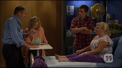 Karl Kennedy, Georgia Brooks, Kyle Canning, Sheila Canning in Neighbours Episode 7036