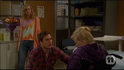 Georgia Brooks, Kyle Canning, Sheila Canning in Neighbours Episode 7036