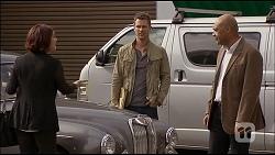 Naomi Canning, Mark Brennan, Errol Gill in Neighbours Episode 7036