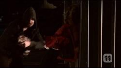 Burglar, Sonya Mitchell in Neighbours Episode 7036