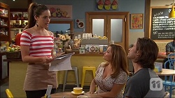Paige Novak, Terese Willis, Brad Willis in Neighbours Episode 7038