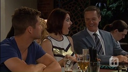 Mark Brennan, Naomi Canning, Paul Robinson in Neighbours Episode 7040