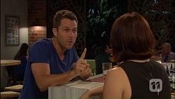 Mark Brennan, Naomi Canning in Neighbours Episode 7040