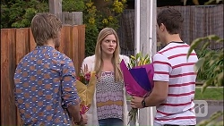 Daniel Robinson, Amber Turner, Josh Willis in Neighbours Episode 7040