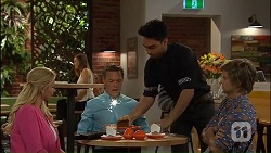 Lucy Robinson, Paul Robinson, Marco James, Daniel Robinson in Neighbours Episode 7040