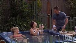 Georgia Brooks, Naomi Canning, Mark Brennan in Neighbours Episode 7040