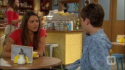 Paige Novak, Bailey Turner in Neighbours Episode 7042