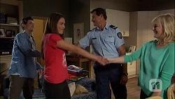 Bailey Turner, Paige Novak, Matt Turner, Lauren Turner in Neighbours Episode 7042