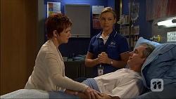 Susan Kennedy, Georgia Brooks, Karl Kennedy in Neighbours Episode 7043