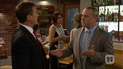 Paul Robinson, Naomi Canning, Dennis Dimato in Neighbours Episode 7043