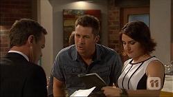 Paul Robinson, Mark Brennan, Naomi Canning in Neighbours Episode 7043
