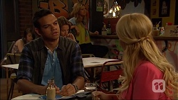 Nate Kinski, Lucy Robinson in Neighbours Episode 7043