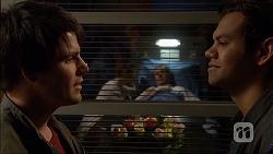 Chris Pappas, Susan Kennedy, Karl Kennedy, Nate Kinski in Neighbours Episode 7043