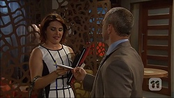 Naomi Canning, Dennis Dimato in Neighbours Episode 7043