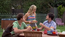 Kyle Canning, Georgia Brooks, Chris Pappas in Neighbours Episode 7044