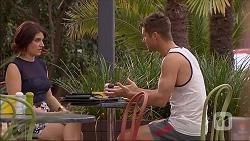 Naomi Canning, Mark Brennan in Neighbours Episode 7044