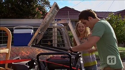 Georgia Brooks, Kyle Canning in Neighbours Episode 7044