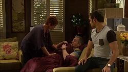 Susan Kennedy, Karl Kennedy, Nate Kinski in Neighbours Episode 7044