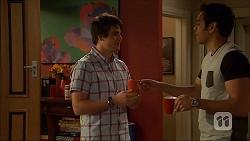 Chris Pappas, Nate Kinski in Neighbours Episode 7044