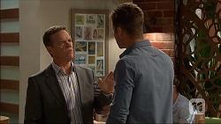 Paul Robinson, Mark Brennan in Neighbours Episode 7044