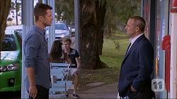 Mark Brennan, Dennis Dimato in Neighbours Episode 7044