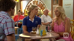 Chris Pappas, Georgia Brooks, Lucy Robinson in Neighbours Episode 7044