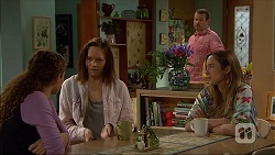 Cat Rogers, Erin Rogers, Toadie Rebecchi, Sonya Mitchell in Neighbours Episode 7045