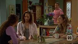 Cat Rogers, Erin Rogers, Toadie Rebecchi, Sonya Rebecchi in Neighbours Episode 7045