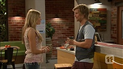 Amber Turner, Daniel Robinson in Neighbours Episode 7045