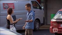 Naomi Canning, Mark Brennan in Neighbours Episode 7045