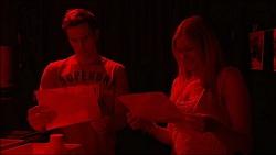 Josh Willis, Amber Turner in Neighbours Episode 7045